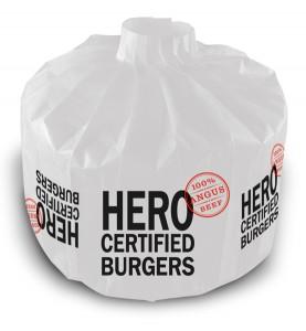 PleatPak for Hero Burger